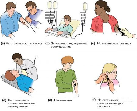 передача гепатита в